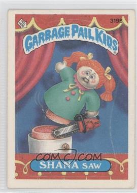 1985-88 Topps Garbage Pail Kids #319 - [Missing]