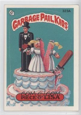 1985-88 Topps Garbage Pail Kids #323 - [Missing]