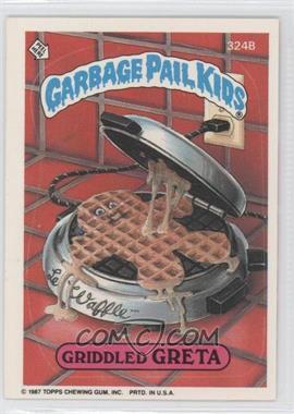 1985-88 Topps Garbage Pail Kids #324 - [Missing]