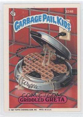 1985-88 Topps Garbage Pail Kids #324B - [Missing]