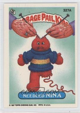 1985-88 Topps Garbage Pail Kids #327A - [Missing]