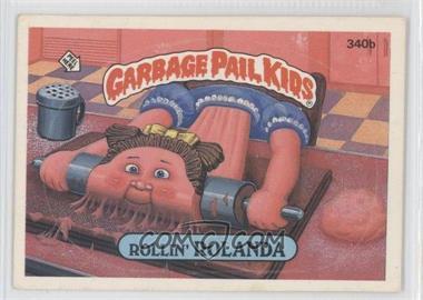 1985-88 Topps Garbage Pail Kids #340b - [Missing]
