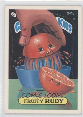 1985-88 Topps Garbage Pail Kids #341 - [Missing]