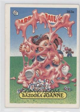 1985-88 Topps Garbage Pail Kids #353a.2 - [Missing] (two star back)
