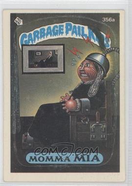 1985-88 Topps Garbage Pail Kids #356 - [Missing]