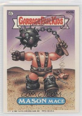 1985-88 Topps Garbage Pail Kids #450b - [Missing]