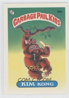 1985 Topps Garbage Pail Kids Series 1 - [Base] #34a - Kim Kong