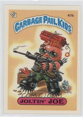 1985 Topps Garbage Pail Kids Series 1 - [Base] #41b.2 - Joltin' Joe (Two Star Back)