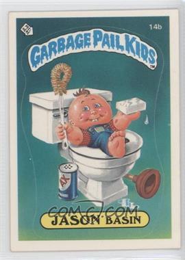 1985 Topps Garbage Pail Kids Series 1 #14b - Jason Basin