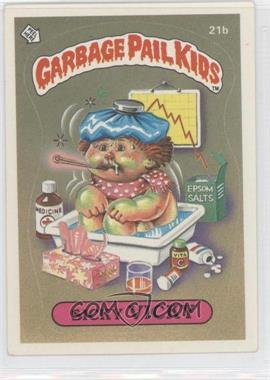1985 Topps Garbage Pail Kids Series 1 #21b - Sicky Vicky