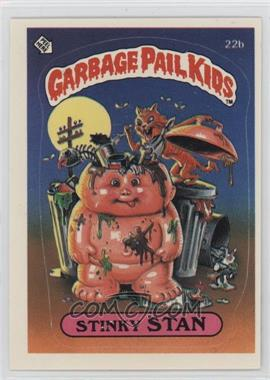 1985 Topps Garbage Pail Kids Series 1 #22b - Stinky Stan