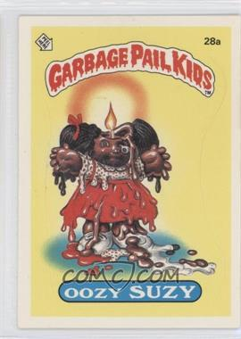 1985 Topps Garbage Pail Kids Series 1 #28a - Oozy Suzy