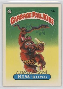 1985 Topps Garbage Pail Kids Series 1 #34a - Kim Kong