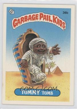 1985 Topps Garbage Pail Kids Series 1 #36b - Tommy Tomb