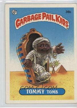 1985 Topps Garbage Pail Kids Series 1 #36b.2 - Tommy Tomb (Two Star Back)