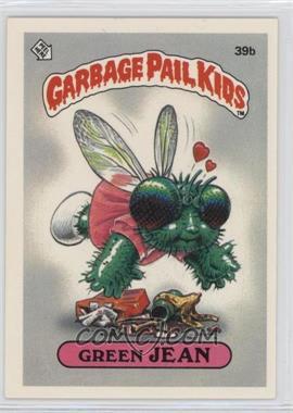 1985 Topps Garbage Pail Kids Series 1 #39b - Green Jean
