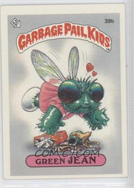 1985 Topps Garbage Pail Kids Series 1 #39b - Green Jean