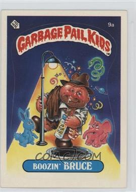 1985 Topps Garbage Pail Kids Series 1 #9a.1 - Boozin' Bruce (One Star Back)