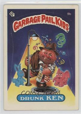 1985 Topps Garbage Pail Kids Series 1 #9b.2 - Drunk Ken (Two Star Back)
