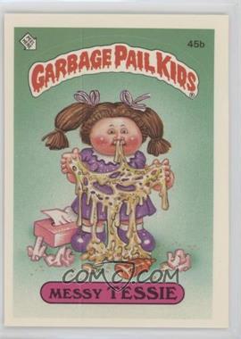 1985 Topps Garbage Pail Kids Series 2 - [Base] #45b.2 - Messy Tessie (Two Star Back)