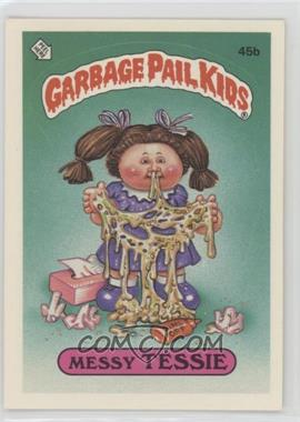 1985 Topps Garbage Pail Kids Series 2 #45b.2 - Messy Tessie (Two Star Back)