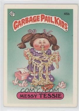 1985 Topps Garbage Pail Kids Series 2 #45b.2 - Messy Tessie (Two Star Back)