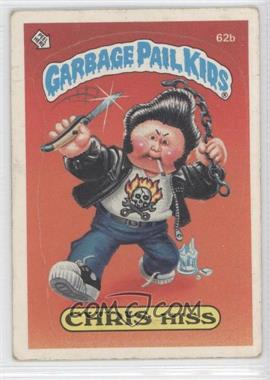 1985 Topps Garbage Pail Kids Series 2 #62b.2 - Chris Hiss (Two Star Back)