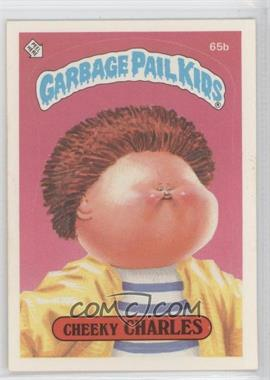 1985 Topps Garbage Pail Kids Series 2 #65b.2 - Cheeky Charles (two star back)