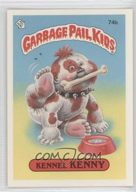 1985 Topps Garbage Pail Kids Series 2 #74b.2 - Kennel Kenny (Two Star Back)