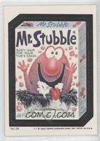 Mr. Stubble
