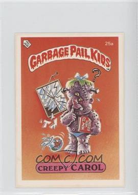 1986 Topps Garbage Pail Kids Series 1 UK Minis #25a - Creepy Carol