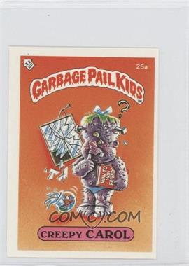 1986 Topps Garbage Pail Kids Series 1 UK Minis #25a - Creepy Carol