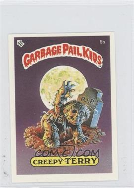 1986 Topps Garbage Pail Kids Series 1 UK Minis #5b - Creepy Terry