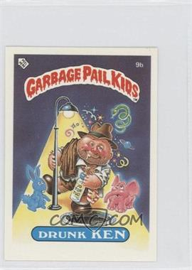 1986 Topps Garbage Pail Kids Series 1 UK Minis #9b - Drunk Ken