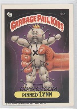 1986 Topps Garbage Pail Kids Series 3 - [Base] #85b - Pinned Lynn