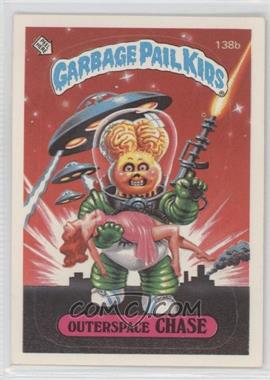 1986 Topps Garbage Pail Kids Series 3-6 [???] #138b.2 - Outerspace Chase (two star back)