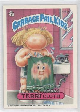 "1986 Topps Garbage Pail Kids Series 3-6 [???] #169b.1 - [Missing] (""ids"" puzzle back)"