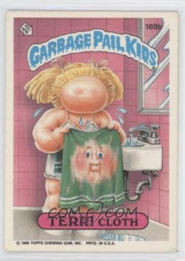 "1986 Topps Garbage Pail Kids Series 3-6 [???] #169b.1 - Terri Cloth (""ids"" puzzle back)"