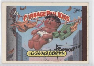 1986 Topps Garbage Pail Kids Series 3-6 [???] #242a - Clean Maureen