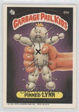 1986 Topps Garbage Pail Kids Series 3 #85b - Pinned Lynn