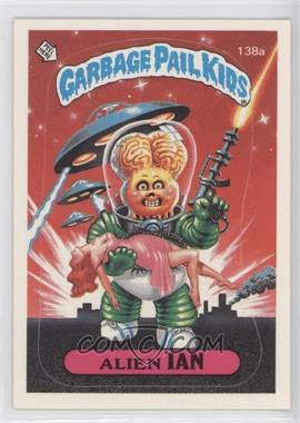 1986 Topps Garbage Pail Kids Series 4 #138a.1 - Alien Ian (one star back)