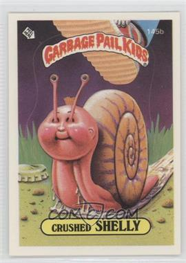 1986 Topps Garbage Pail Kids Series 4 #145b.2 - Crushed Shelly (Two Star Back)