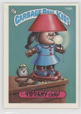 1986 Topps Garbage Pail Kids Series 4 #148b.2 - Tiffany Lamp (two star back)