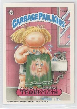 "1986 Topps Garbage Pail Kids Series 5 #169b.1 - Terri Cloth (""ids"" puzzle back)"
