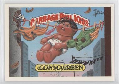 1986 Topps Garbage Pail Kids Series 6 #242a - Clean Maureen
