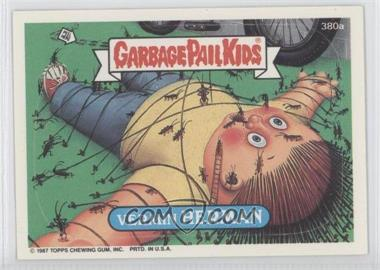 1987 Topps Garbage Pail Kids Series 10 - [Base] #380a - Vermin Herman