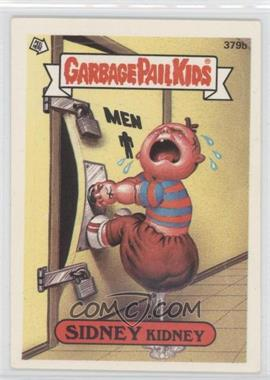 1987 Topps Garbage Pail Kids Series 10 #379b.1 - Sidney Kidney (one star back)