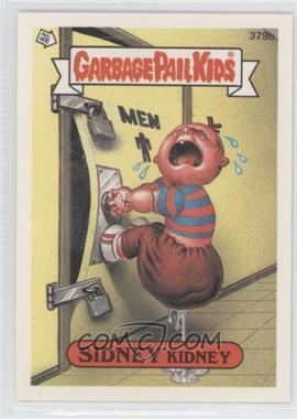 1987 Topps Garbage Pail Kids Series 10 #379b.2 - Sidney Kidney (One Star Back, Zach and Jill Comic)