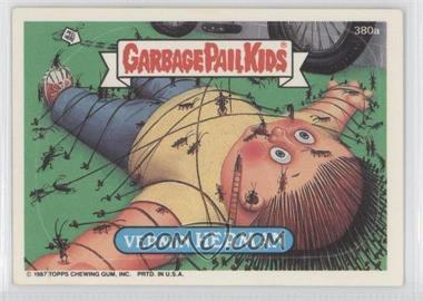1987 Topps Garbage Pail Kids Series 10 #380a - Vermin Herman