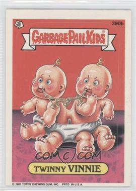 1987 Topps Garbage Pail Kids Series 10 #390b - Twinny Vinnie